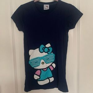 Navy Blue Hello Kitty T-Shirt